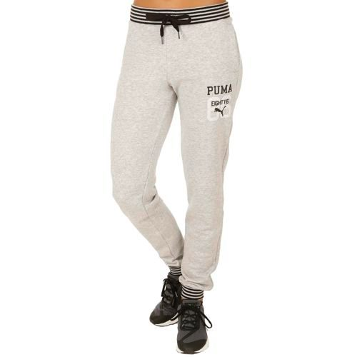 Puma Style Athl. Training Pants Women - Lightgrey, Grey
