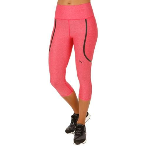 Puma Pwrshape Knee Capri Pants Women - Lightred