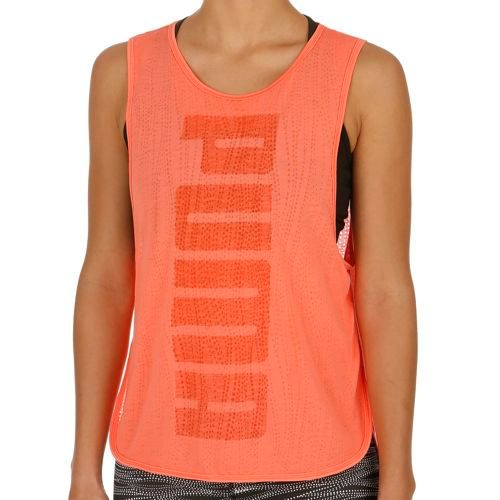 Puma Layer Tank Top Women - Orange