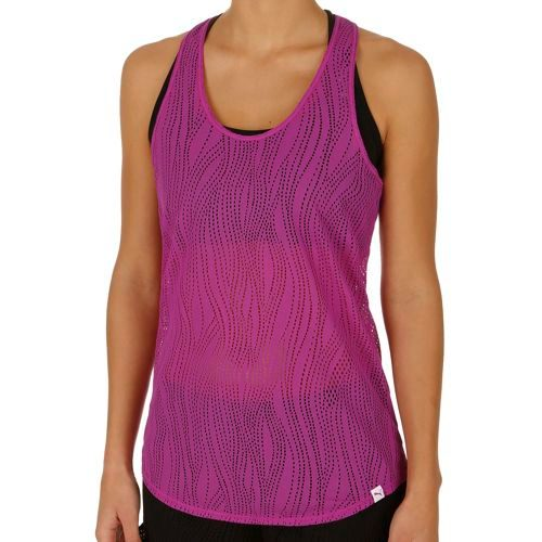 Puma Mesh It Up Layer Tank Top Women - Violet