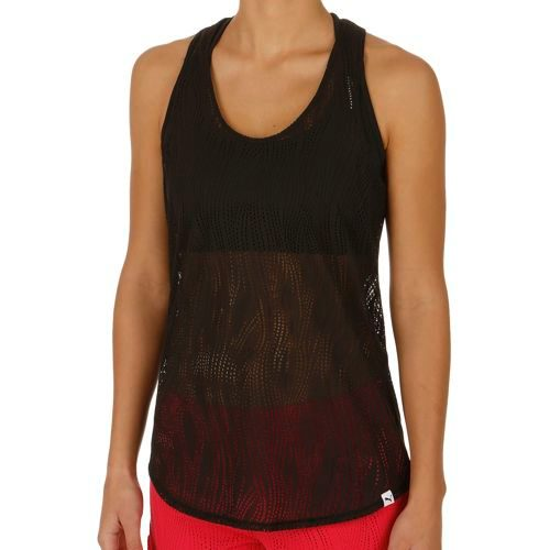 Puma Mesh It Up Layer Tank Top Women - Black