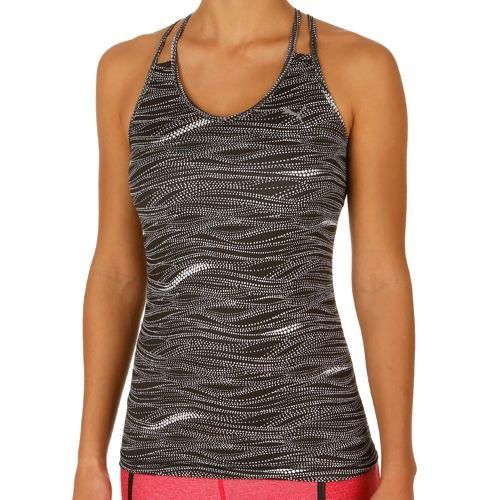 Puma All Eyes On Me Tank Top Women - Black, White