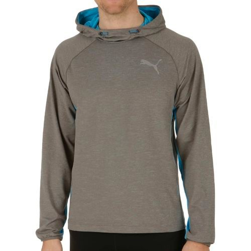 Puma Tech Fleece Hoody Men - Grey