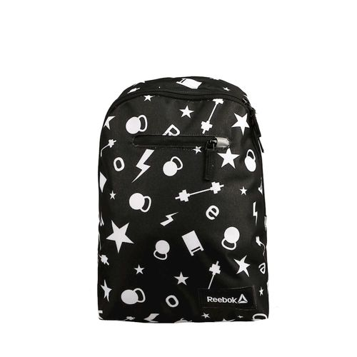 Reebok Unisex Back-to-School Graphic Backpack - Black