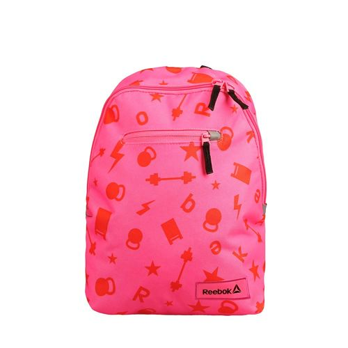 Reebok Unisex Back-to-School Graphic 2 Backpack - Pink