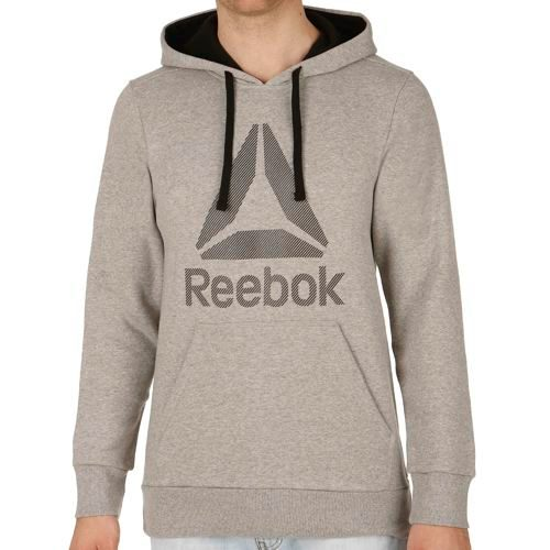 Reebok Big Logo Cotton Poly Hoody Men - Grey