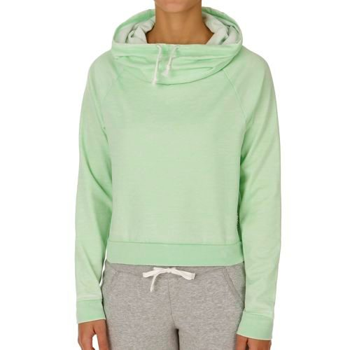 Reebok Cowl Neck Cover Up Hoody Women - Green