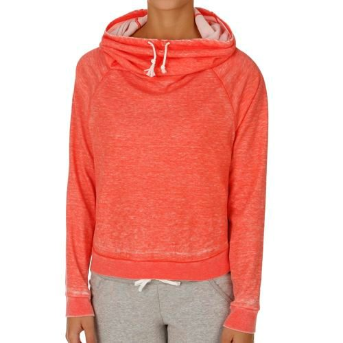Reebok Cowl Neck Cover Up Hoody Women - Red