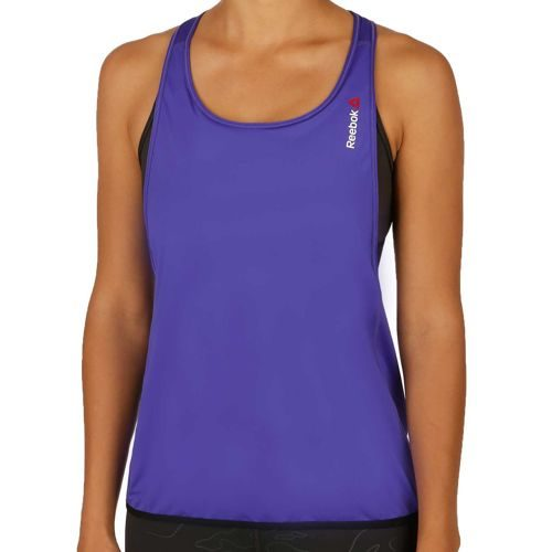 Reebok Speedwick Double Layer Long Tank Top Women - Violet