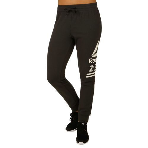 Reebok Quik Cotton Graphic Training Pants Women - Anthracite