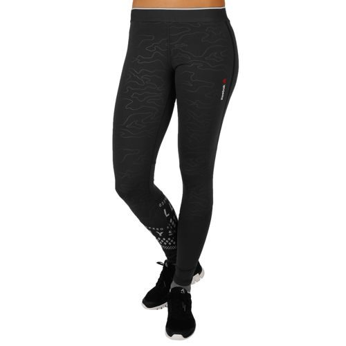 Reebok Speedwick Thermal Running Pants Women - Anthracite