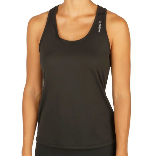 Reebok Work Out Ready Poly Tank Top Women - Black