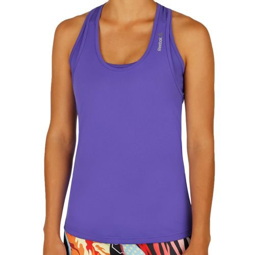 Reebok Work Out Ready Poly Tank Top Women - Violet