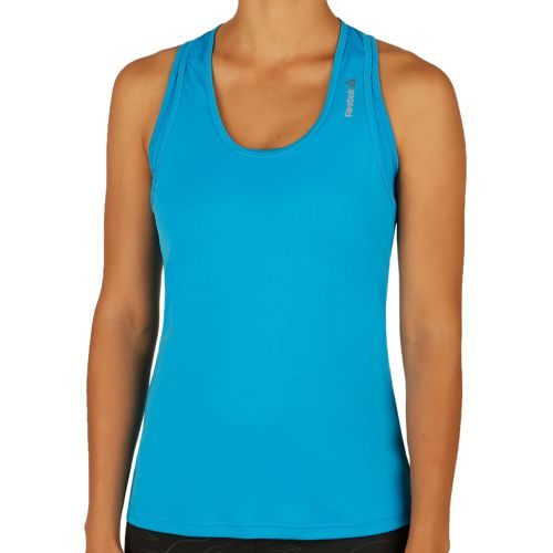 Reebok Work Out Ready Poly Tank Top Women - Blue