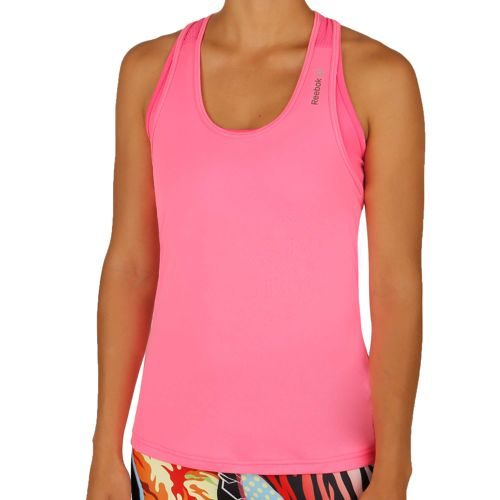 Reebok Work Out Ready Poly Tank Top Women - Pink