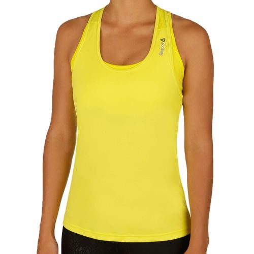 Reebok Work Out Ready Poly Tank Top Women - Yellow