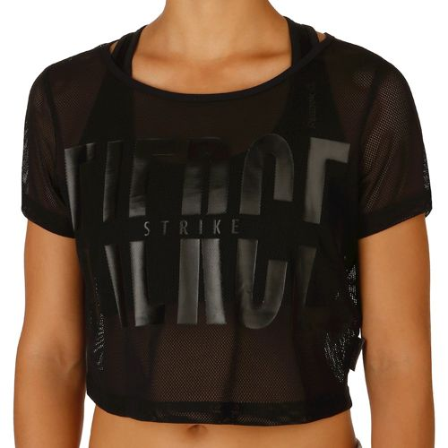 Reebok Cardio Mesh T-Shirt Women - Black