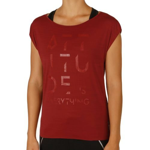 Reebok Cardio T-Shirt Women - Dark Red