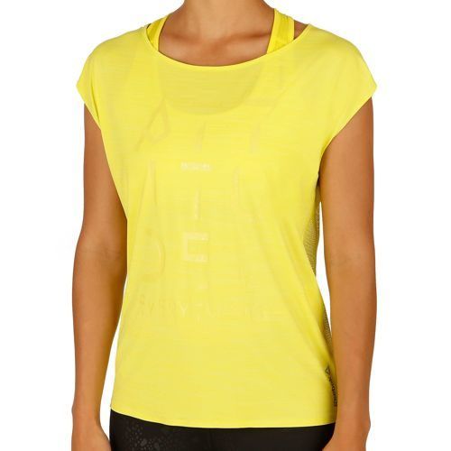 Reebok Cardio T-Shirt Women - Yellow