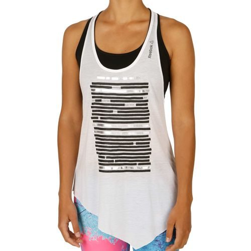 Reebok Dance Asymmetric Tank Top Women - White
