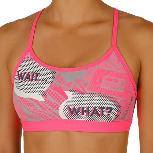 Reebok Yoga Pop Art Sports Bras Women - Pink