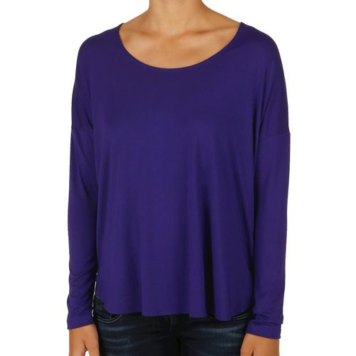Reebok Studio Lux Wool Blend Cover Up Long Sleeve Women - Violet