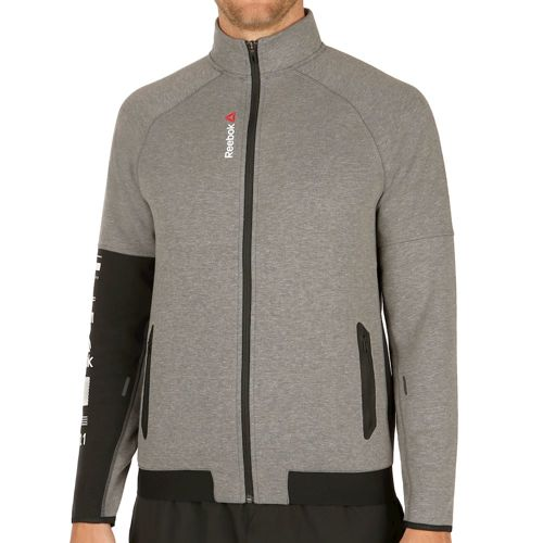 Reebok One Series Quik Cotton Track Training Jacket Men - Dark Grey