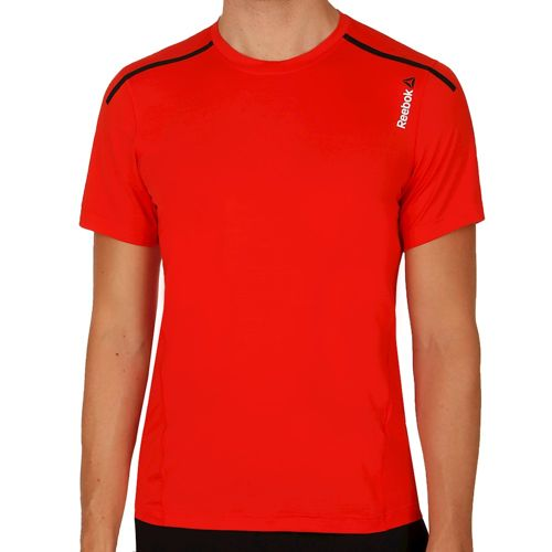 Reebok One Series ActivChill Bonded T-Shirt Men - Red