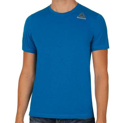 Reebok Workout Ready Stacked Logo Supremium T-Shirt Men - Blue