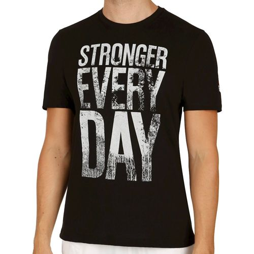 Reebok Stronger Everyday Graphic T-Shirt Men - Black
