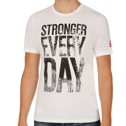 Reebok Stronger Everyday Graphic T-Shirt Men - White