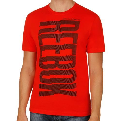 Reebok Magnify T-Shirt Men - Red