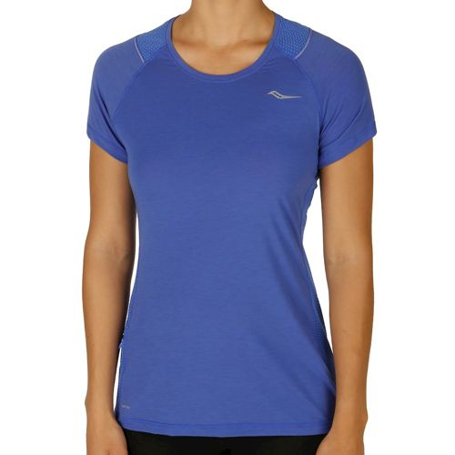 Saucony Freedom Short Sleeve Women - Blue