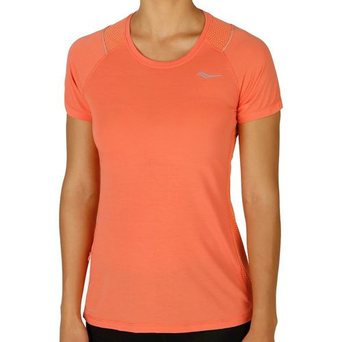 Saucony Freedom Short Sleeve Women - Lightred