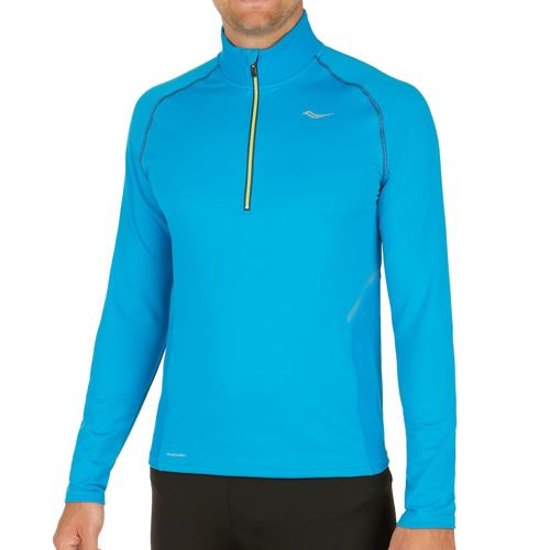 Saucony Omni Sportop Long Sleeve Men - Turquoise