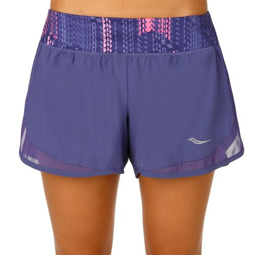 Saucony Impulse Shorts Women - Violet