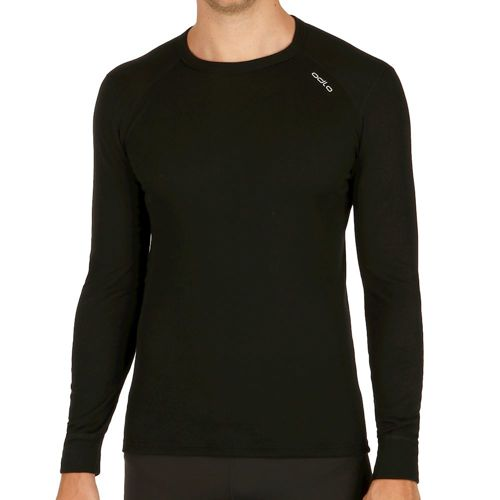 Odlo Warm Shirt Crew Neck Long Sleeve Men - Black