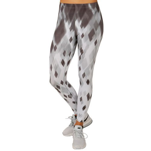 Odlo Ebe Insideout Short Cut Leggings Women - White, Lightgrey