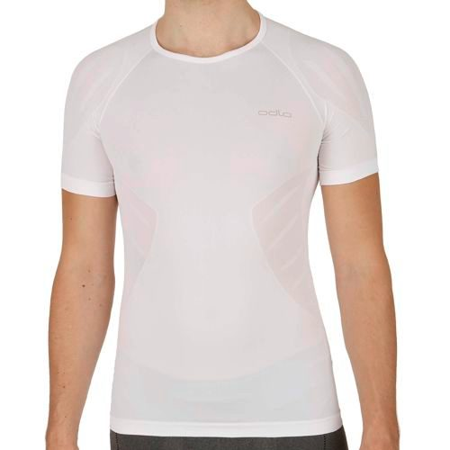 Odlo Evolution Light Crew Neck T-Shirt Men - White