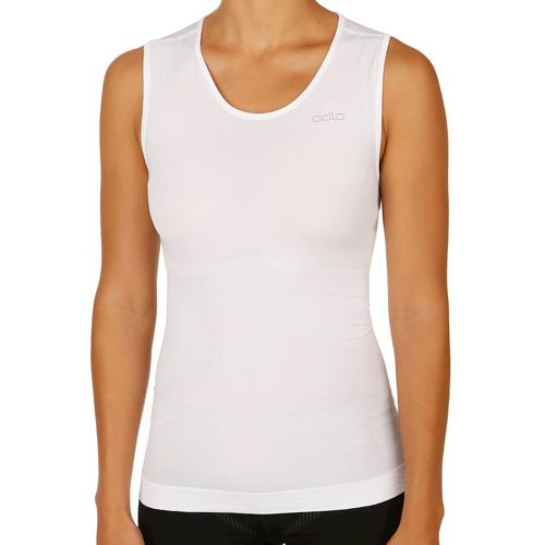 Odlo Evolution Light Singlet Crew Neck Sleeveless Women - White