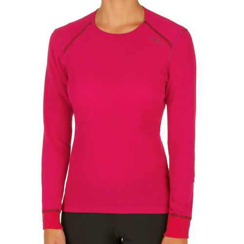 Odlo Crew Neck Warm Long Sleeve Women - Dark Red