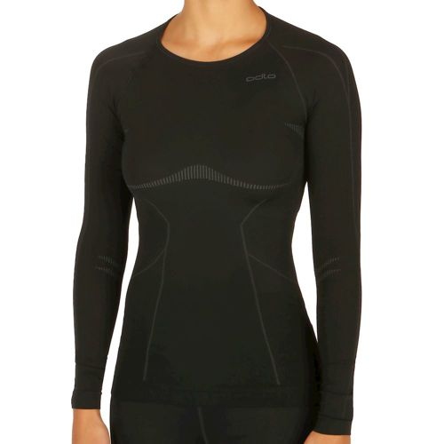 Odlo Evolution Light Crew Neck Long Sleeve Women - Black