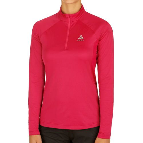 Odlo Versilia Midlayer 1/2 Zip Long Sleeve Women - Dark Red