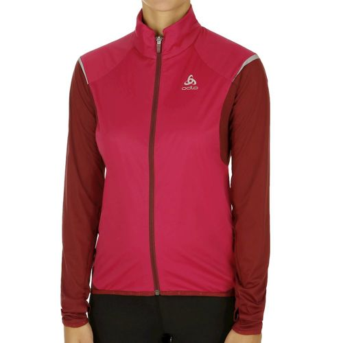 Odlo Zeroweight Logic Running Jacket Women - Dark Red