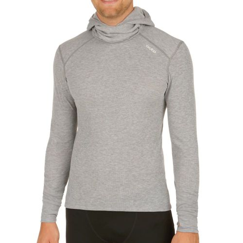 Odlo Warm With Facemask Long Sleeve Men - Grey