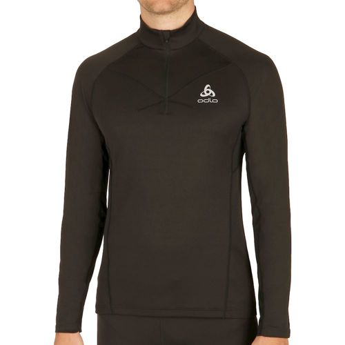 Odlo Virgo Midlayer 1/2 Zip Long Sleeve Men - Black