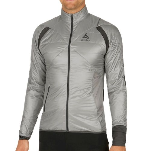 Odlo Loftone Primaloft Running Jacket Men - Silver, Grey