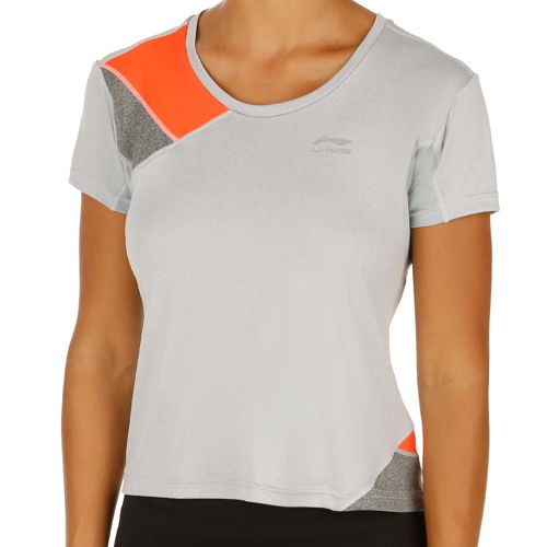 Li-Ning Running T-Shirt Women - Grey