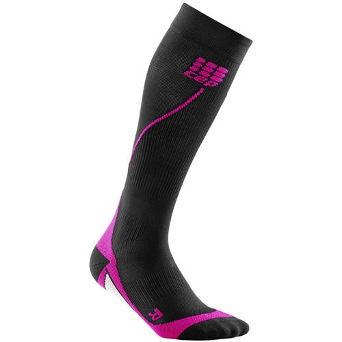 CEP Run 2.0 Compression Socks Women - Black, Pink