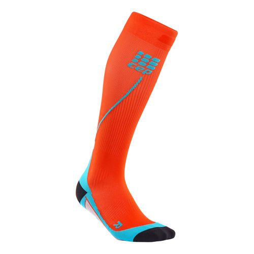 CEP Run 2.0 Sports Socks Men - Lightred, Light Blue